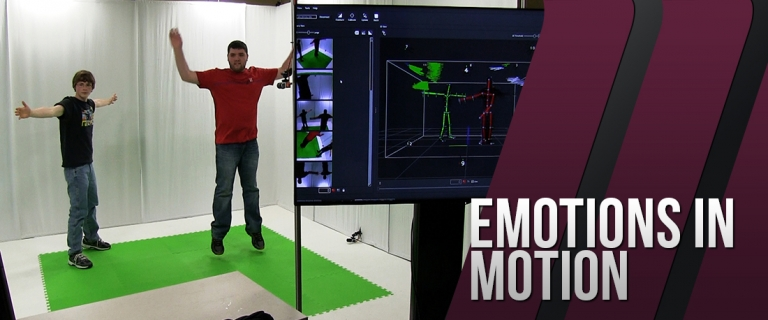 The Motion Capture Studio at EKU's Gaming Institute