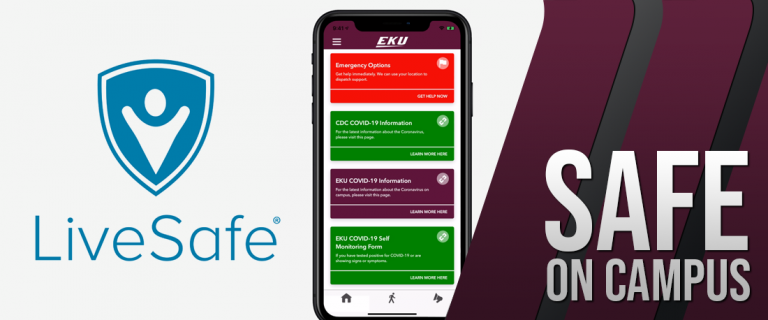 Picture of the LiveSafe App
