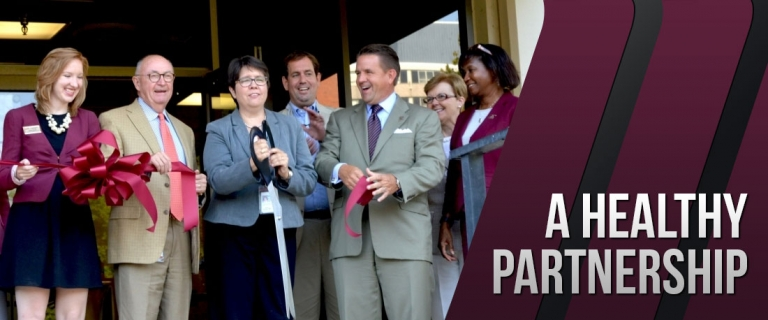 The Grand Opening of the EKU Women's Health Clinic