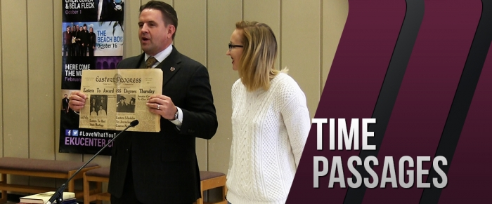 Time Passages: Martin Time Capsule at EKU