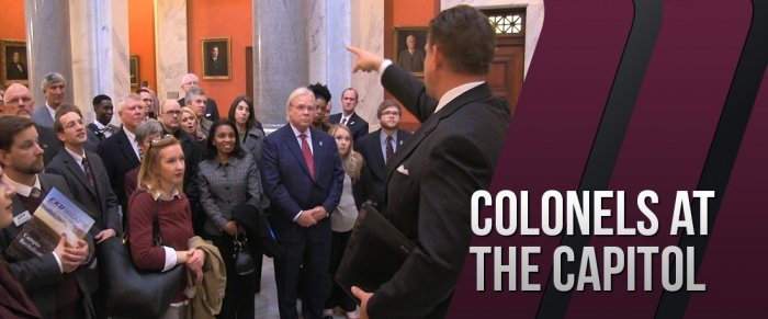 Staff & Faculty visit Frankfort for Colonels at the Capitol day