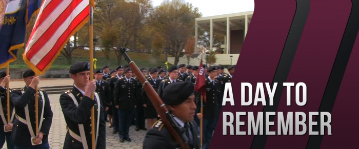Veterans Day Celebration at EKU 2015