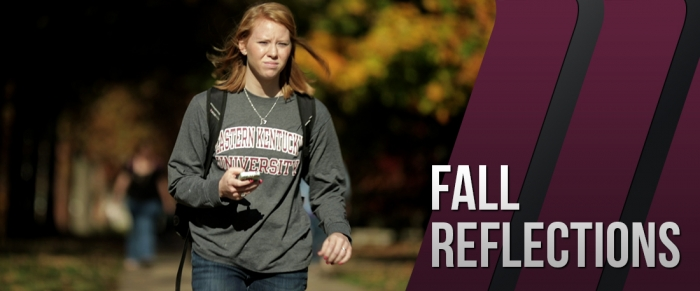 EKU student-athletes reflect on the just completed fall semester