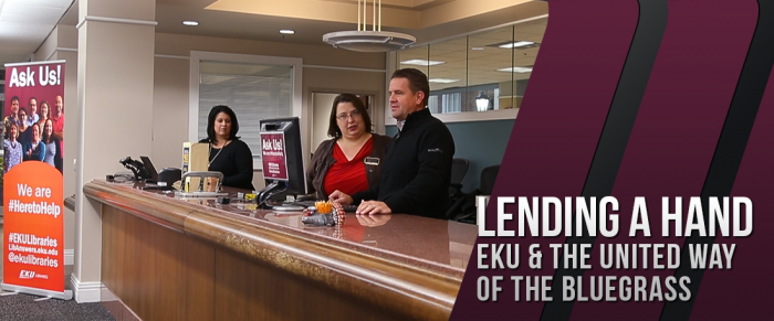 Lending a Hand: EKU and United Way of the Bluegrass