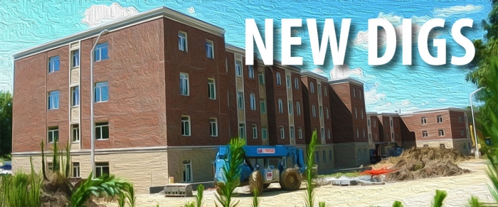 Image of the New Residence Hall